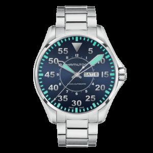 Купить Hamilton Khaki Aviation Pilot Day Date Auto в Астрахани